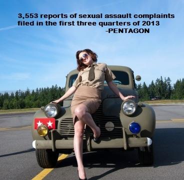 Military Women Objectified